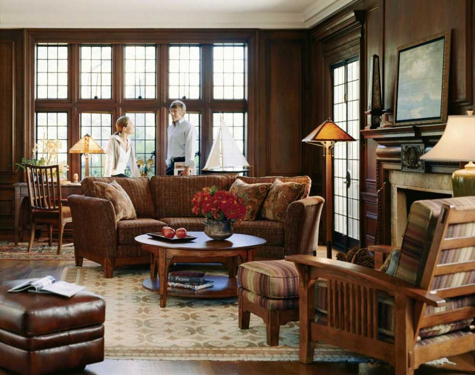Impressive Cottage Style Living Room Ideas with Fall Decorating ..