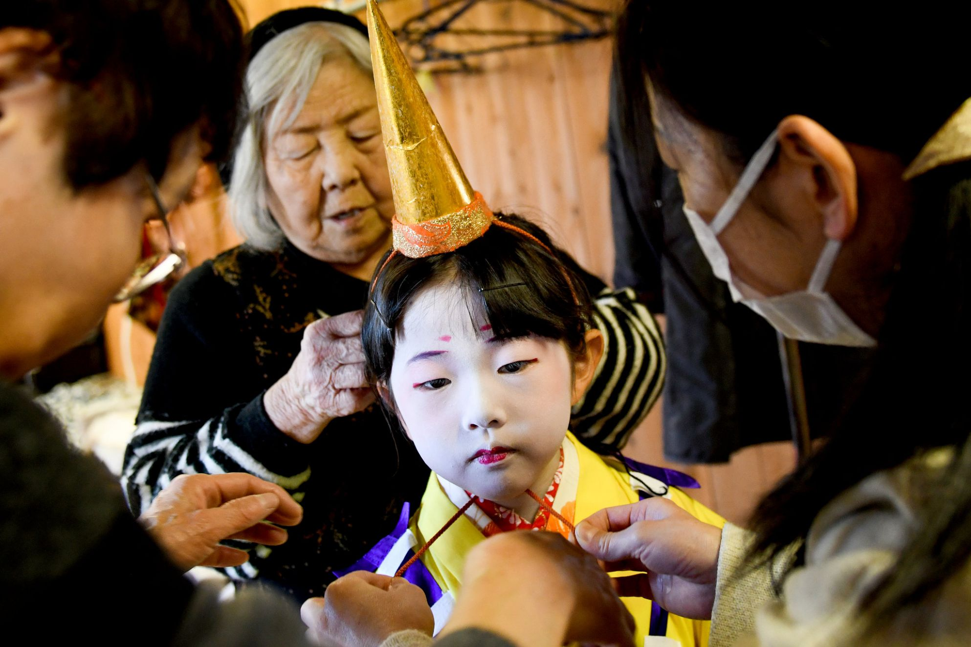 In Rural Japan, a 12-Year-Old Tradition Falls to One Child - The ..