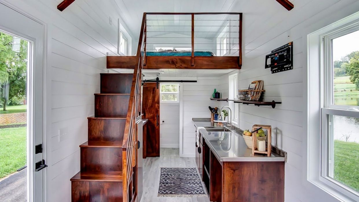 Incredible Stunning Rodanthe Tiny House by Modern Tiny Living @Tiny House  Big Living - tiny house design