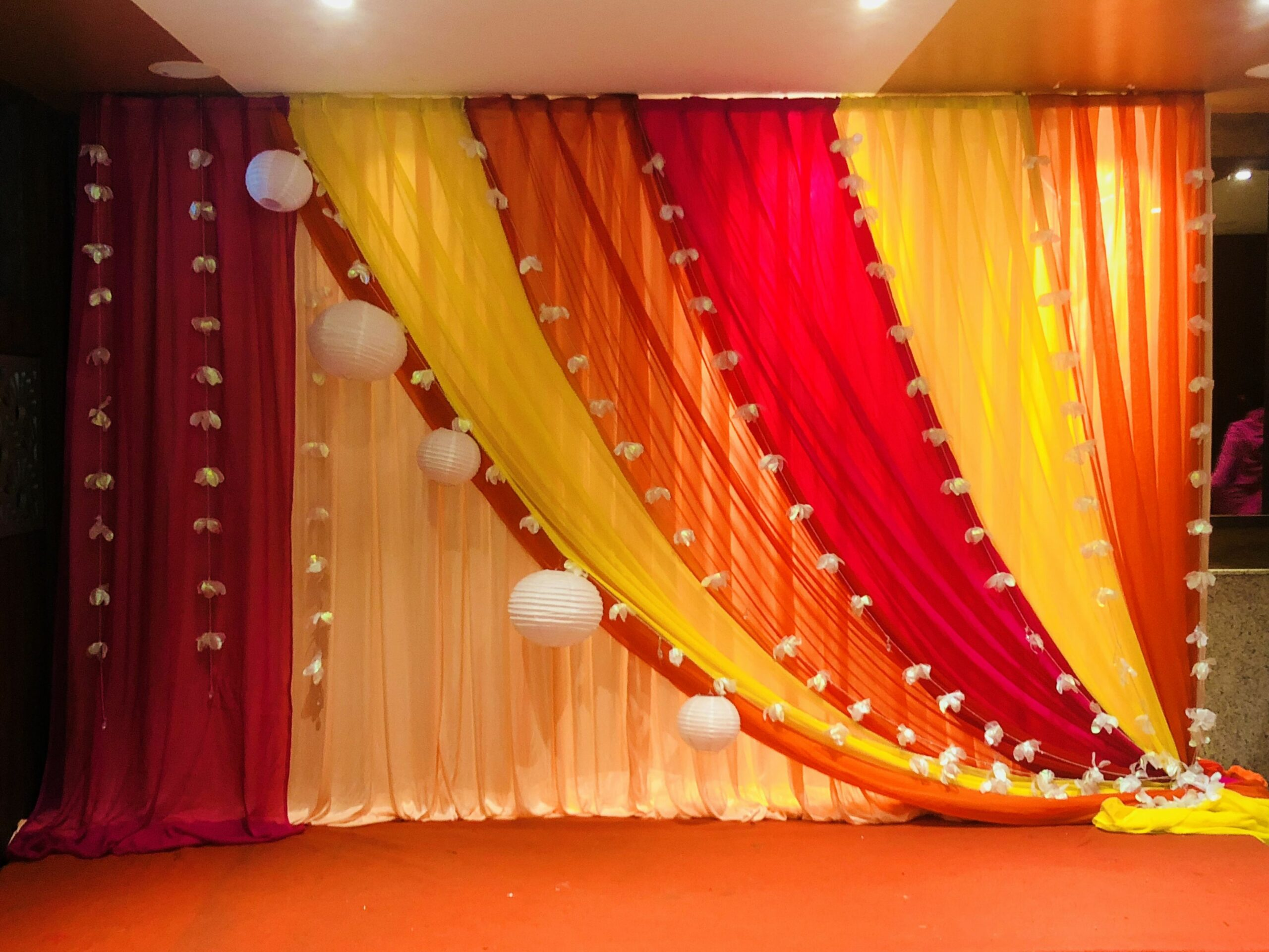 Indian wedding/engagement/party decor (With images) | Engagement ..