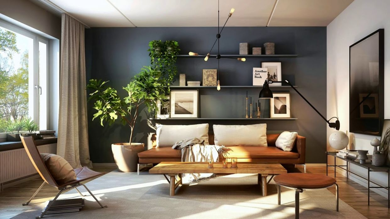 Indoor Plants | 11 Creative Decorating Ideas - living room ideas with plants