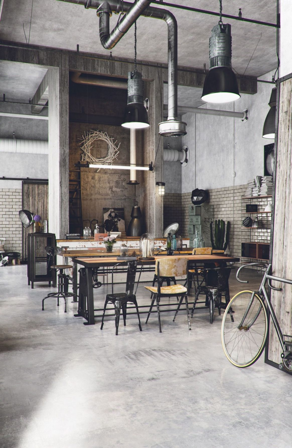 Industrial Style Dining Room Design: The Essential Guide (With ..