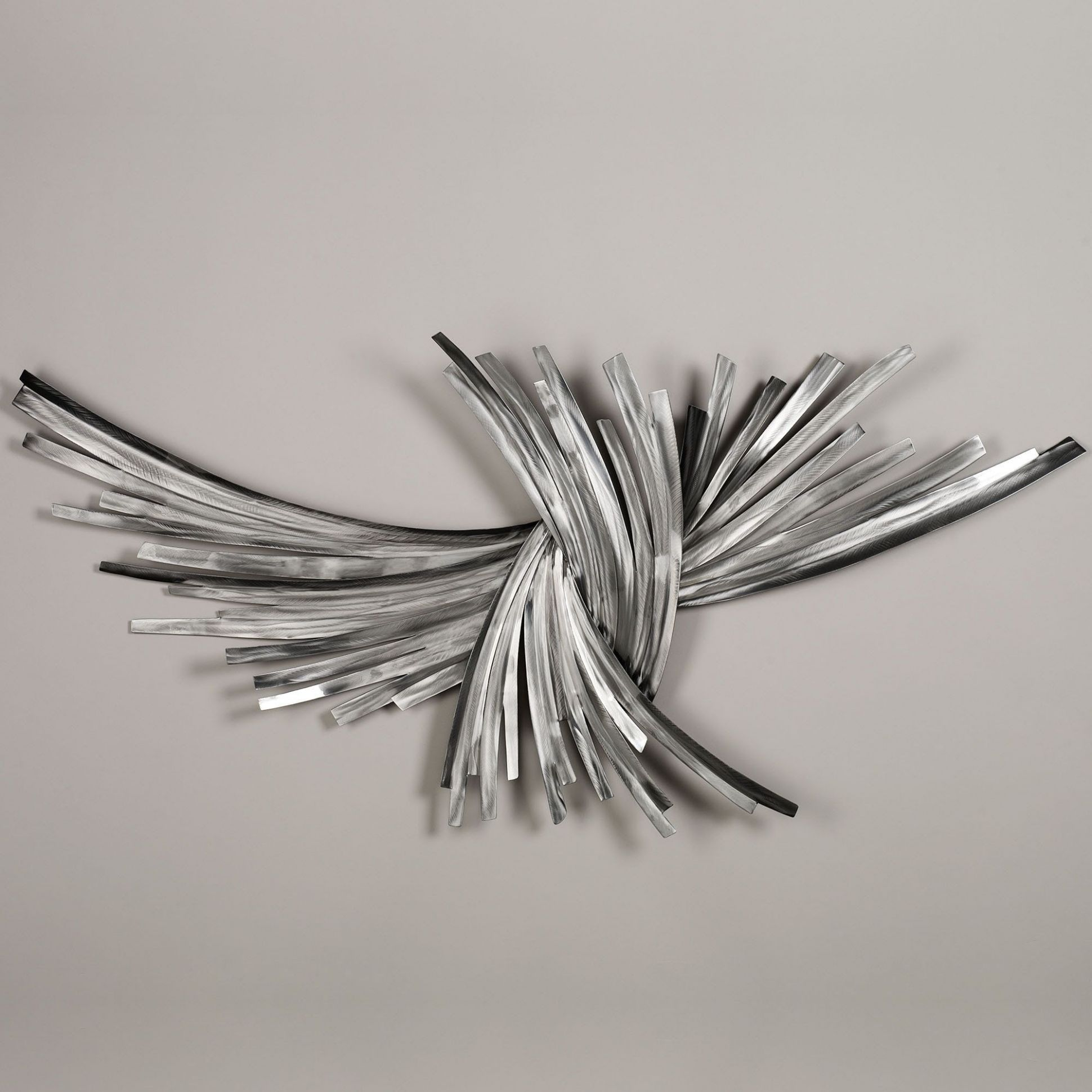 Infinity Silver Metal Wall Sculpture (With images) | Silver metal ...