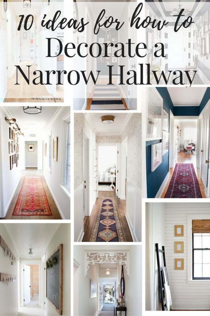 Inspiration and ideas on how to decorate your narrow hallways ..