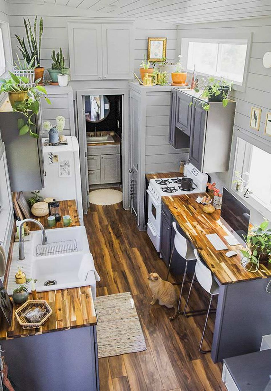 Inspiring Tiny Kitchen Design Ideas for Small House (With images ..