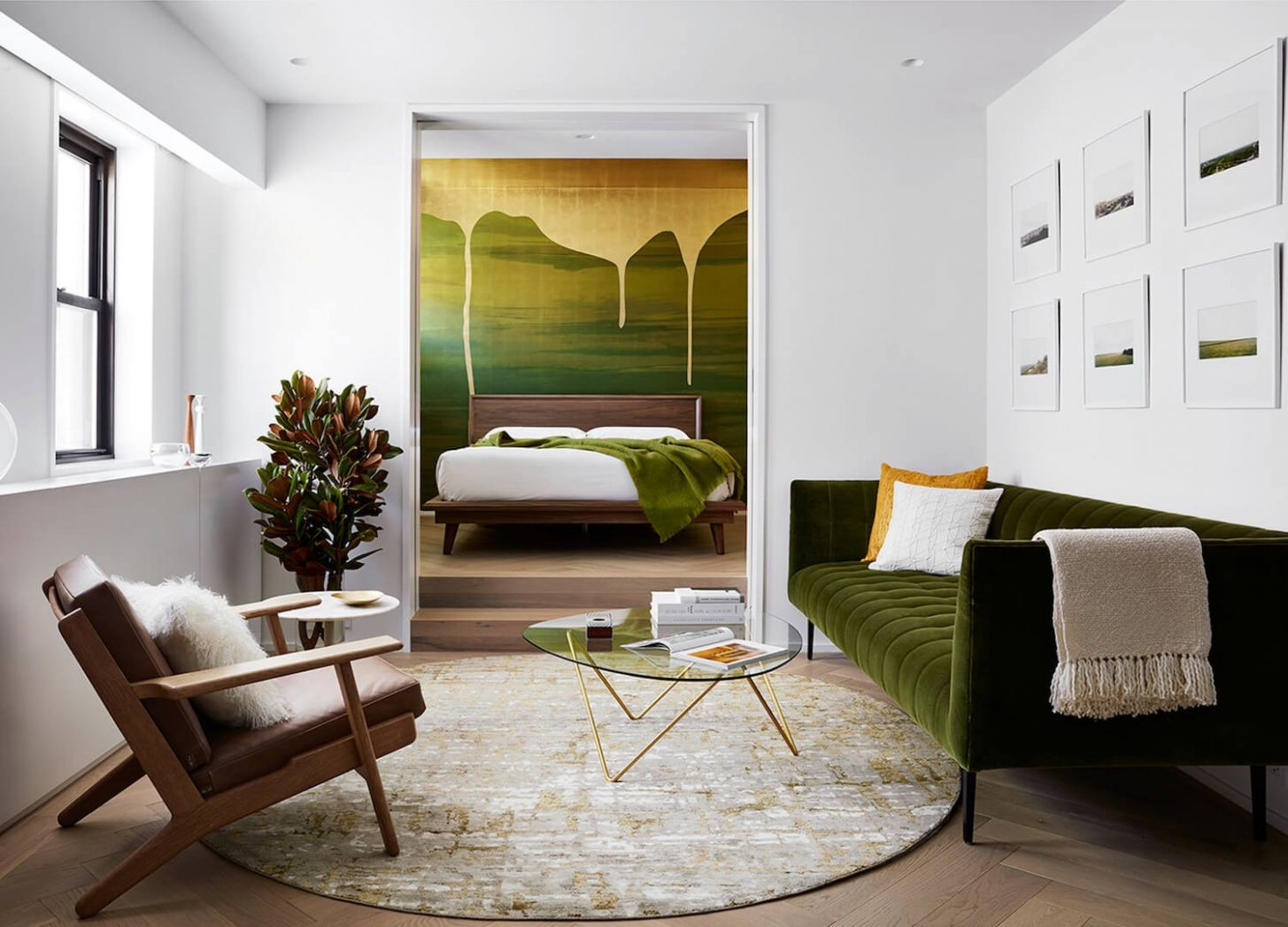 Interior Design Project Brings Nature Inside This New York Apartment