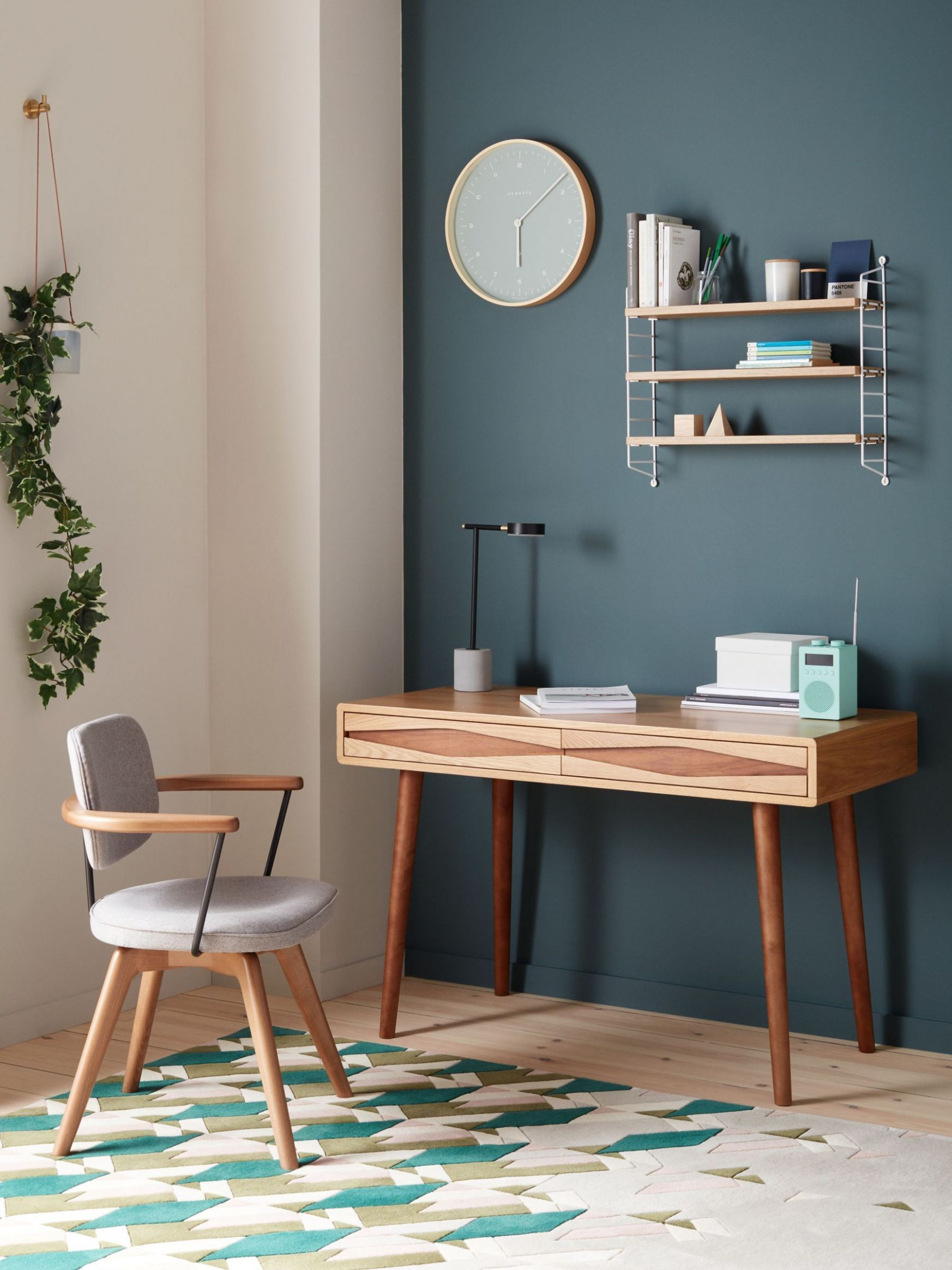 John Lewis & Partners Frequency Desk, Natural in 12 | Home ...