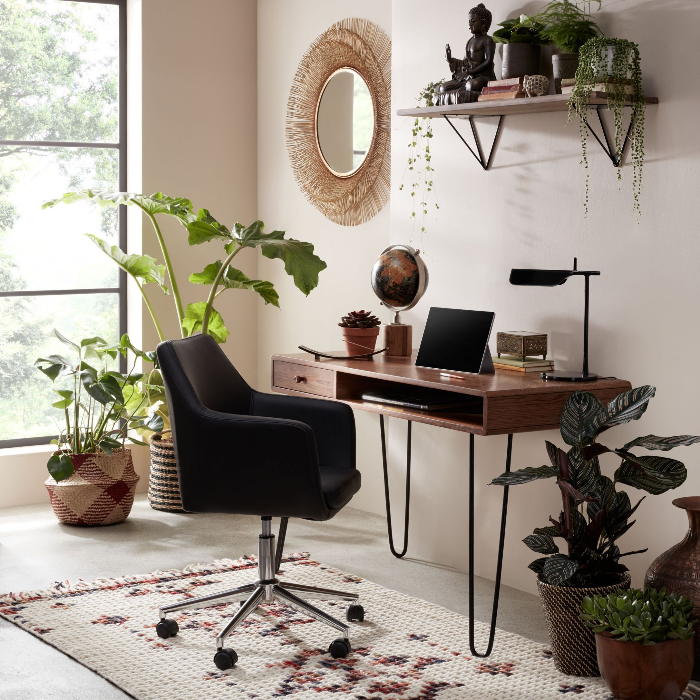 John Lewis & Partners Hairpin Desk | Home office chairs, Home ..