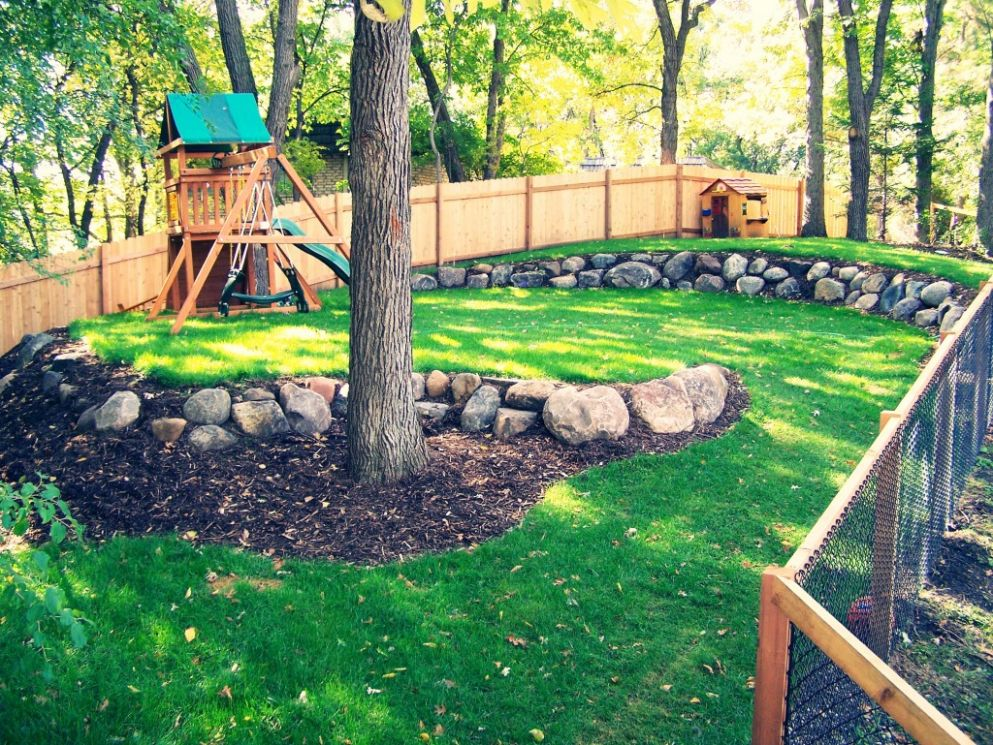 Kid-Friendly Landscape Design Ideas - Great Goats LandscapingGreat ..
