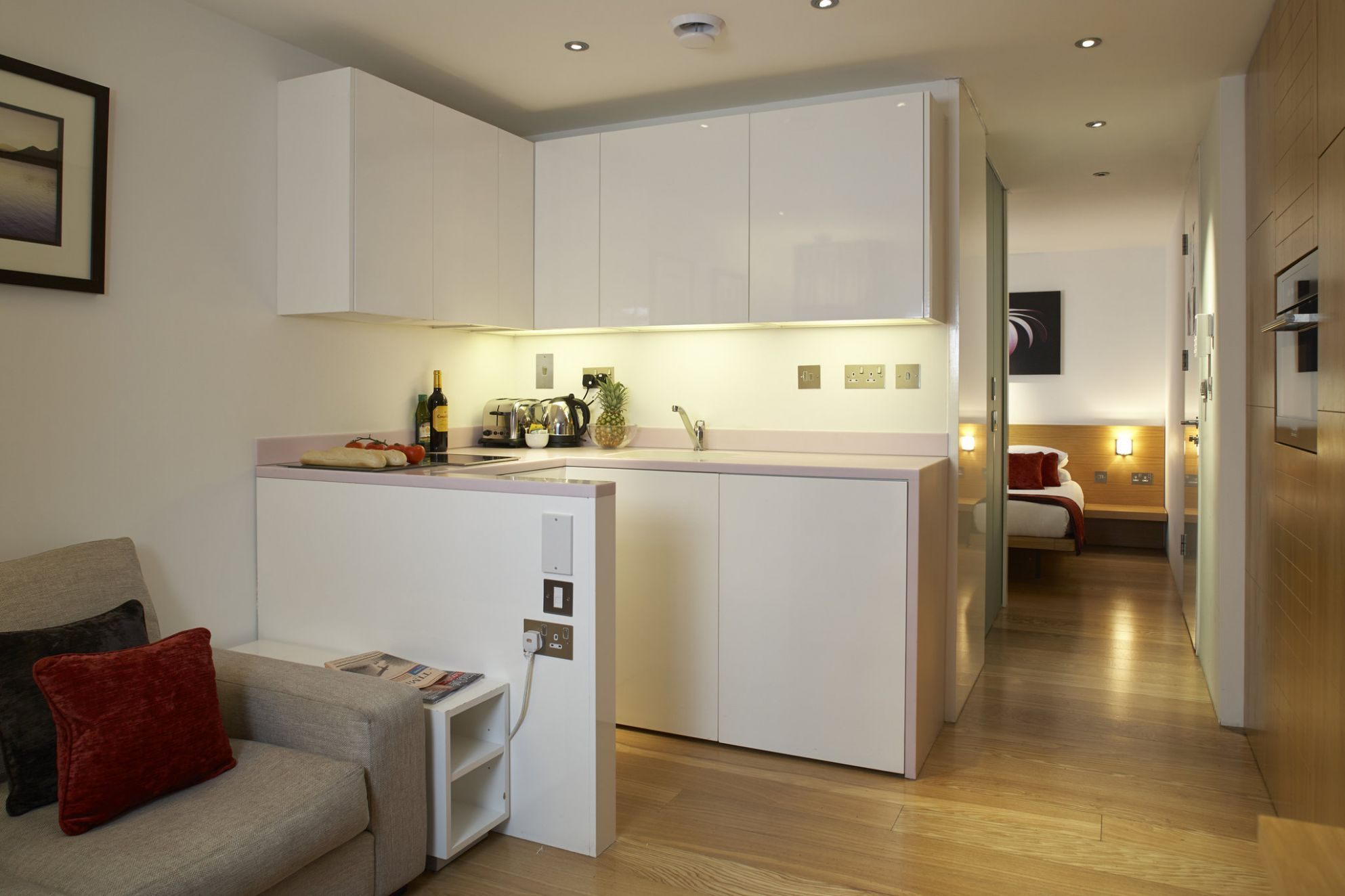 Kitchen Perfect Small Living Room Design Ideas For Open And ...