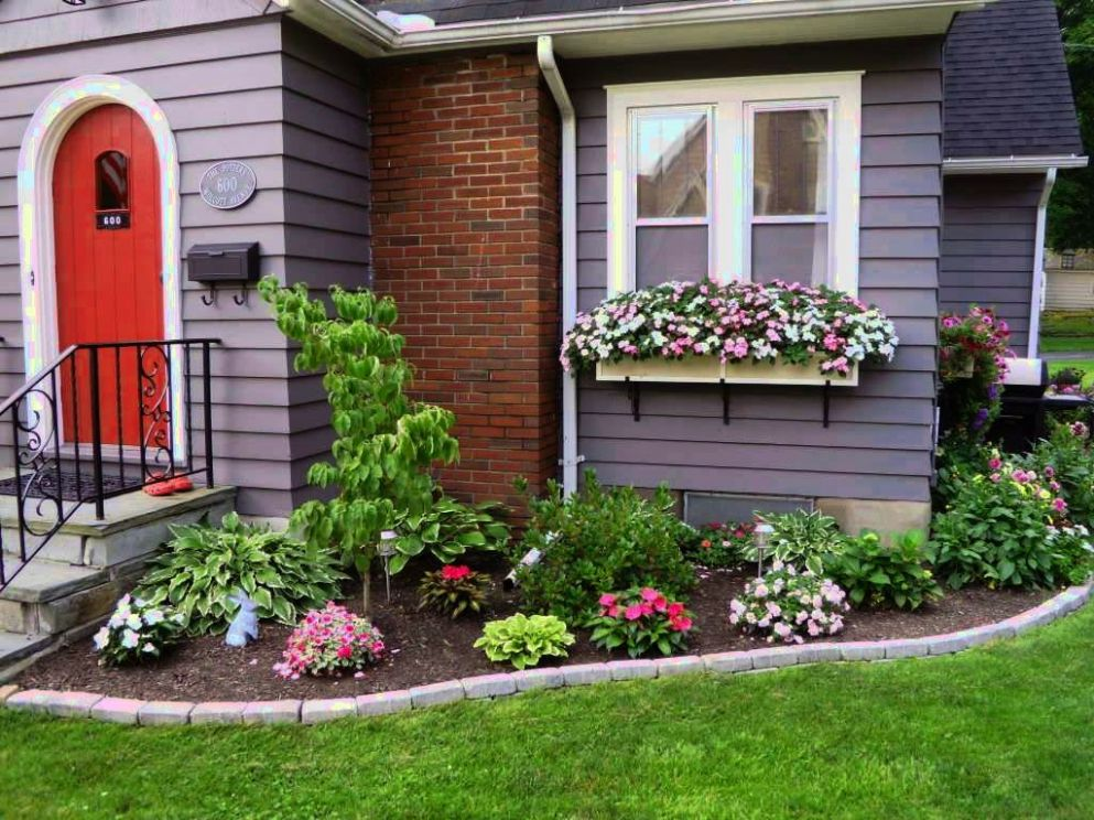 Landscape Design Ideas Front Of House Manitoba Successful Simple ..