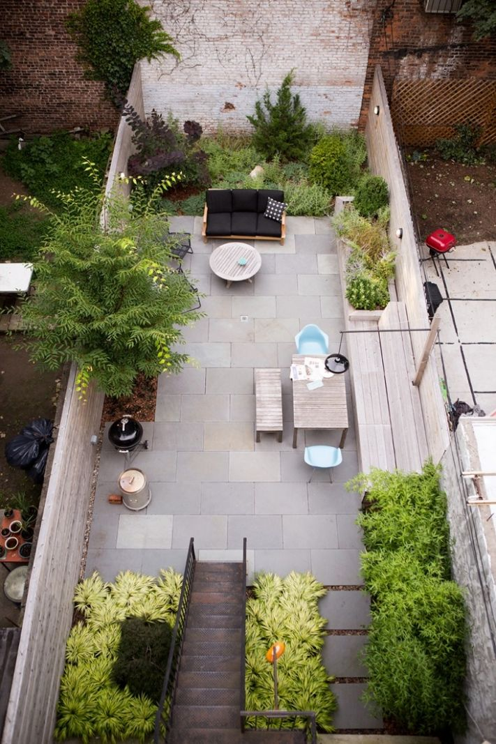 Landscaping: 9 Classic Layouts for Townhouse Gardens - Gardenista