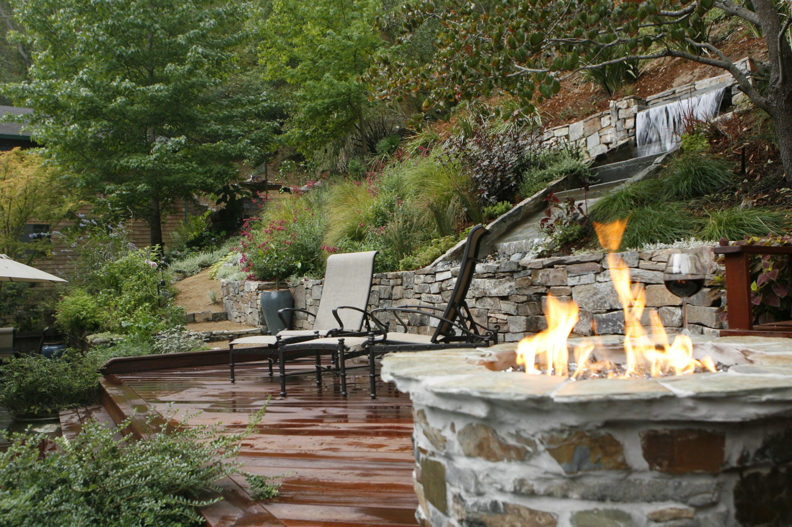Landscaping Ideas Backyard Hillside PDF - backyard ideas hill