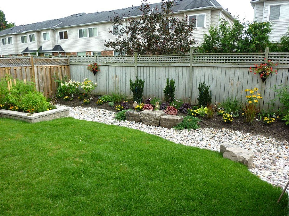Landscaping Ideas For Backyard On A Budget Easy Low Maintenance ..