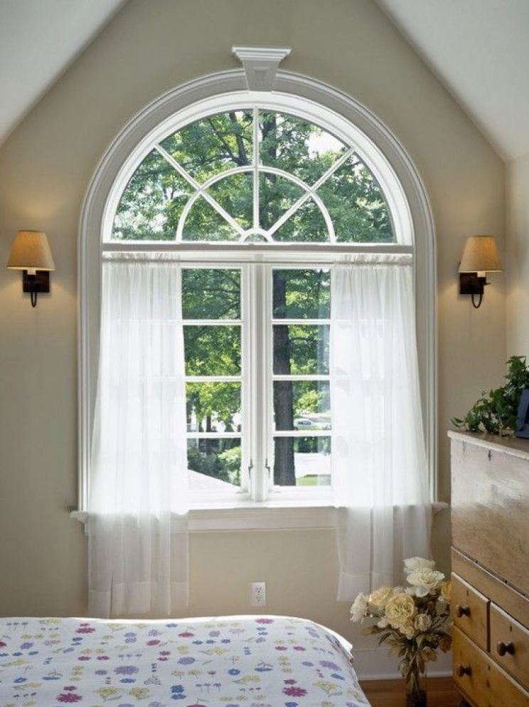Latest Arched Window Treatments Ideas Best Ideas About Arch Window ...