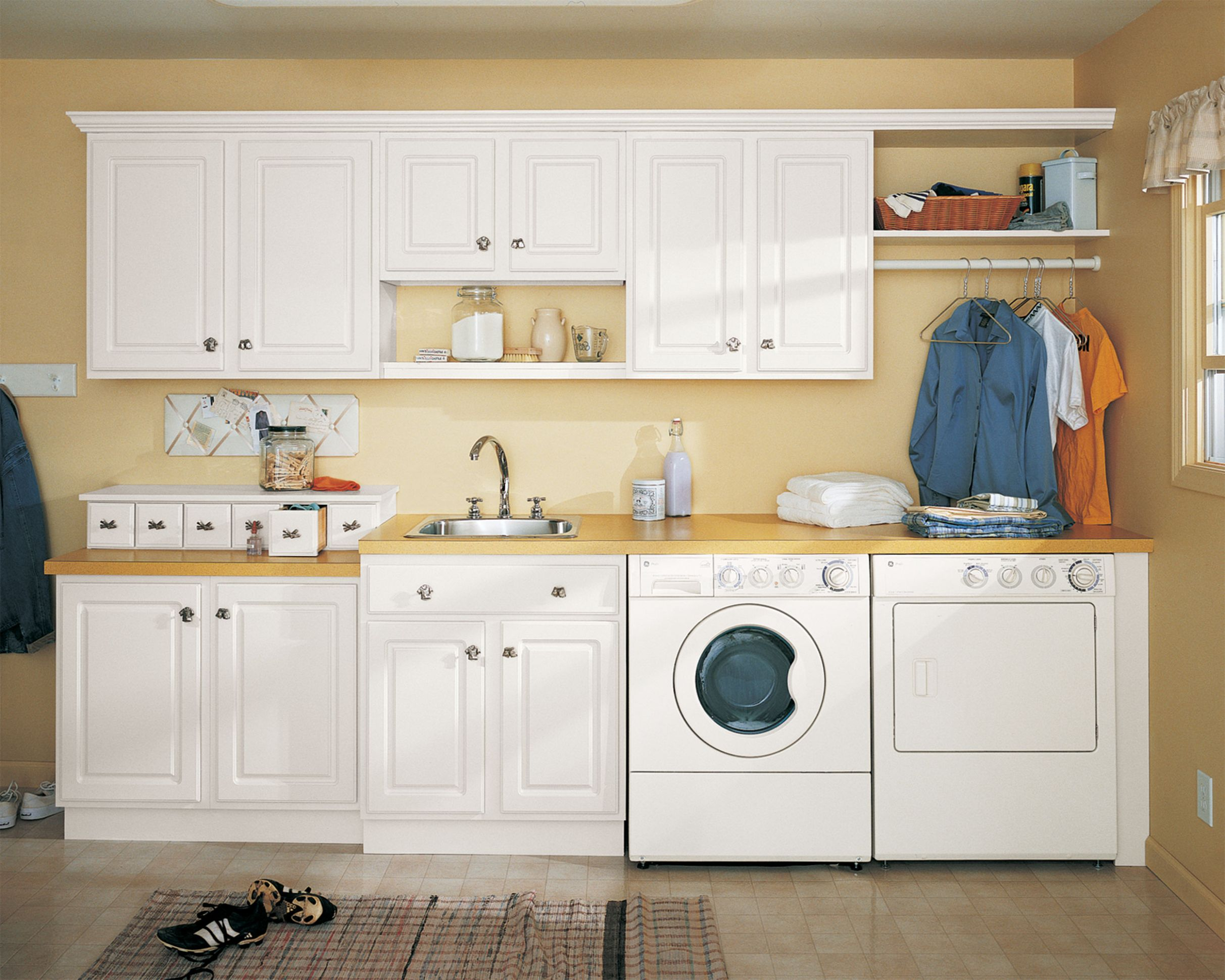 Laundry Room Decor Ideas On A Budget Pictures Decorating Vintage ..