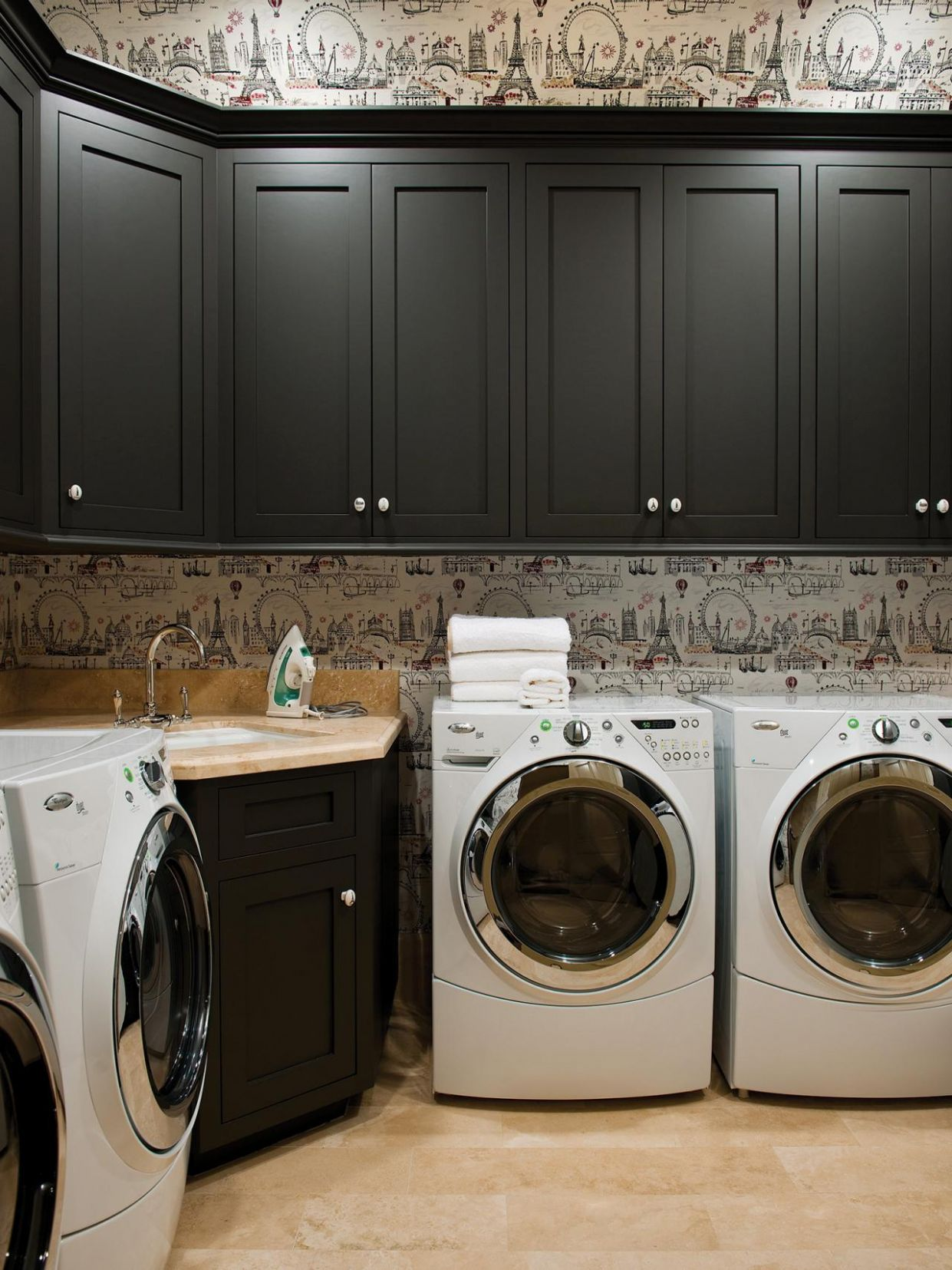 Laundry Room Ideas: Pictures, Options, Tips Advice Hgtv, Dark ..