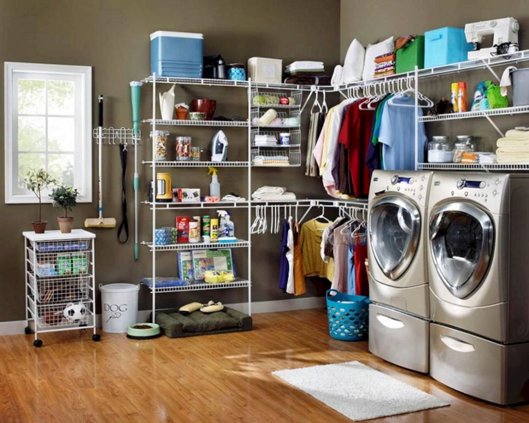 Laundry Room Storage Ideas 12 – DECOREDO