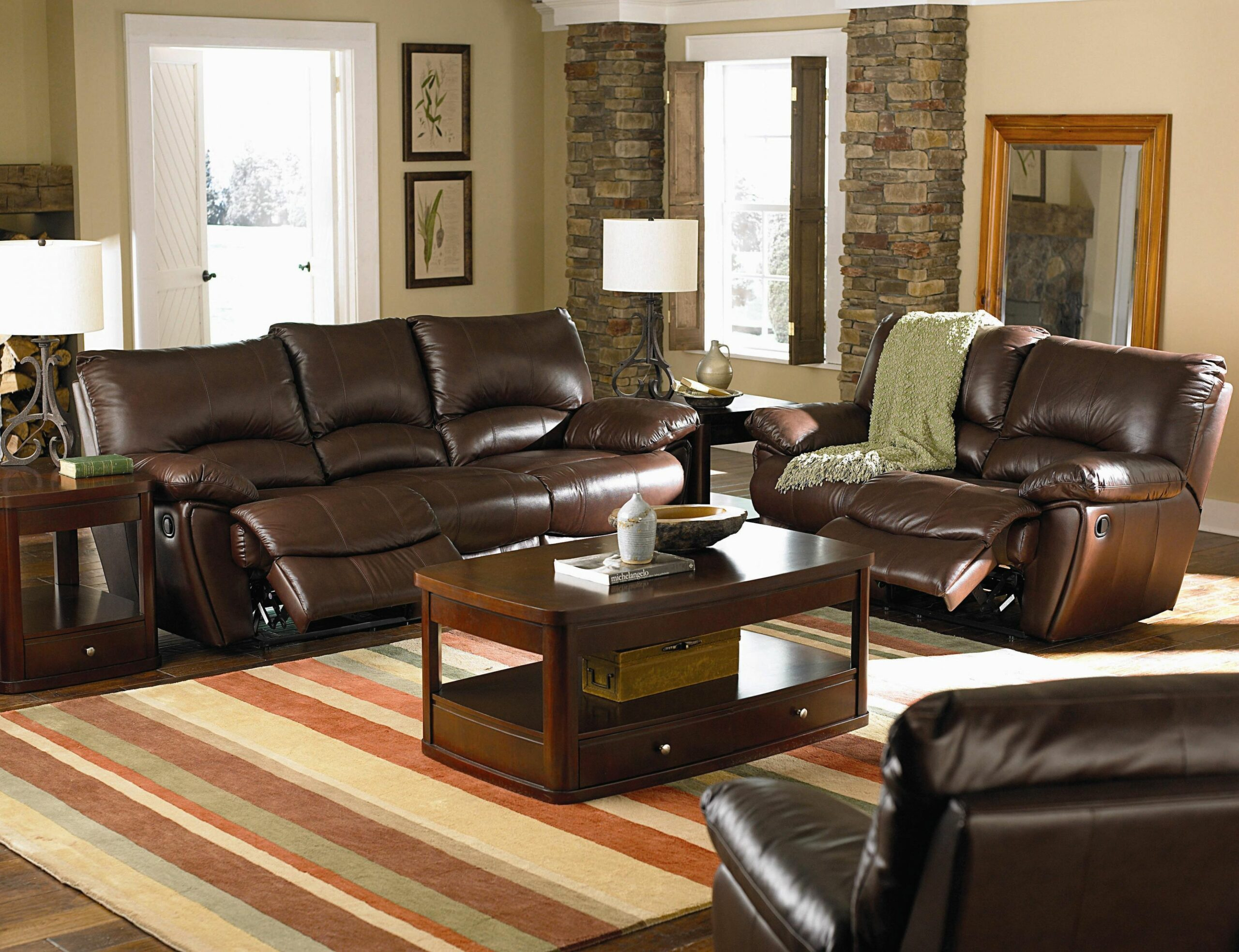 Leather Recliner Living Room Sets Home Design Ideas Chairs Tables ..