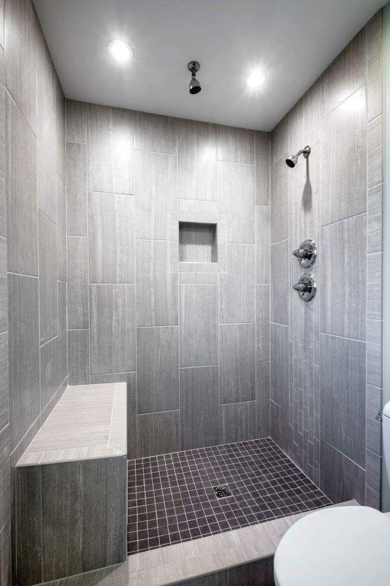 Leonia silver tile from Lowes. Tiled shower, bathroom ideas ..
