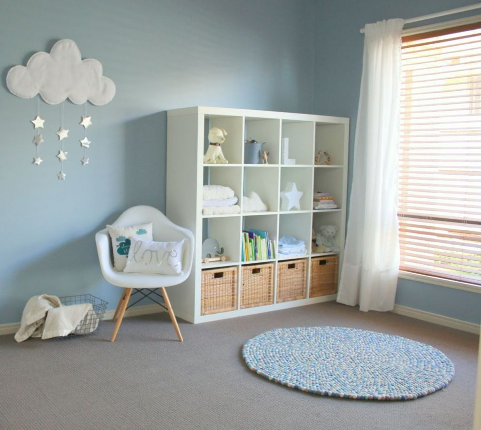 Lincoln's Calm and Serene Nursery (With images) | Baby boy rooms ...