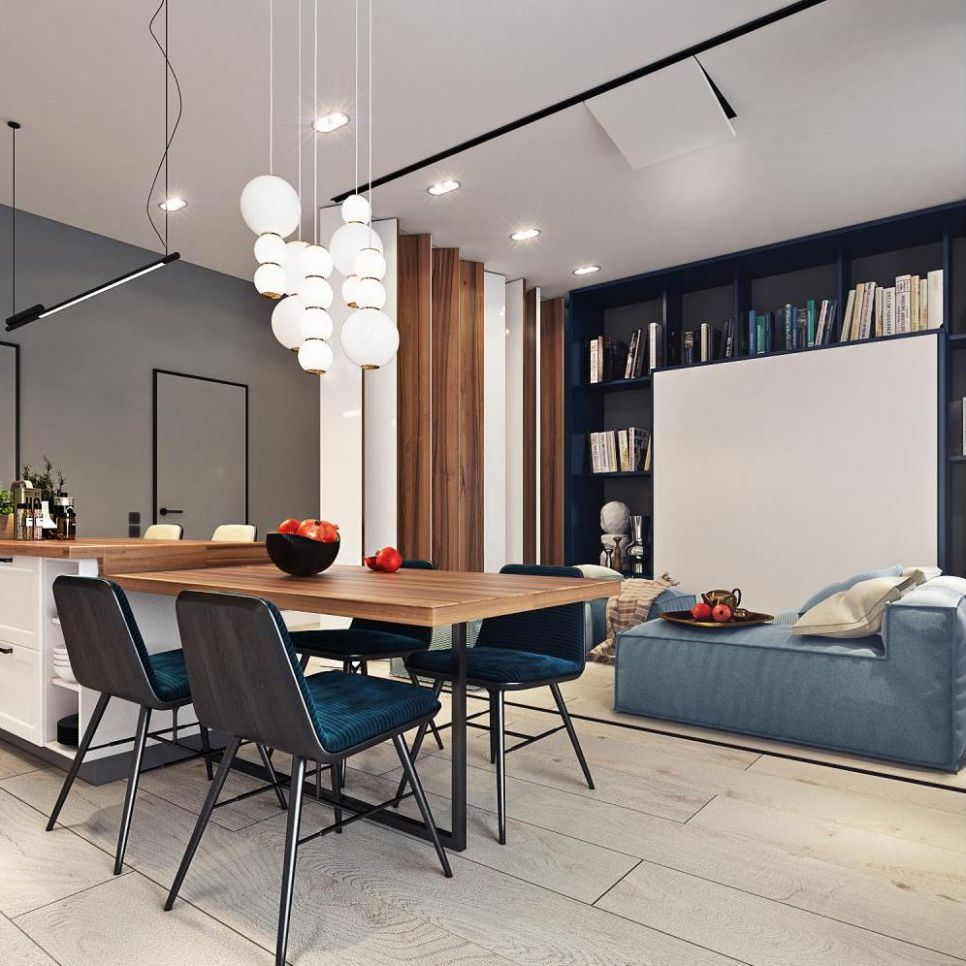 Living & Dining Room Combo: 11 Images & Tips To Get It Right - joint living and dining room ideas