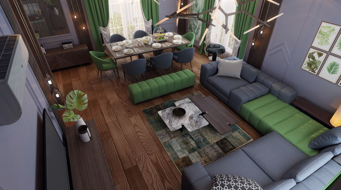 Living & Dining Room Combo: 12 Images & Tips To Get It Right - 11 x 18 living room ideas