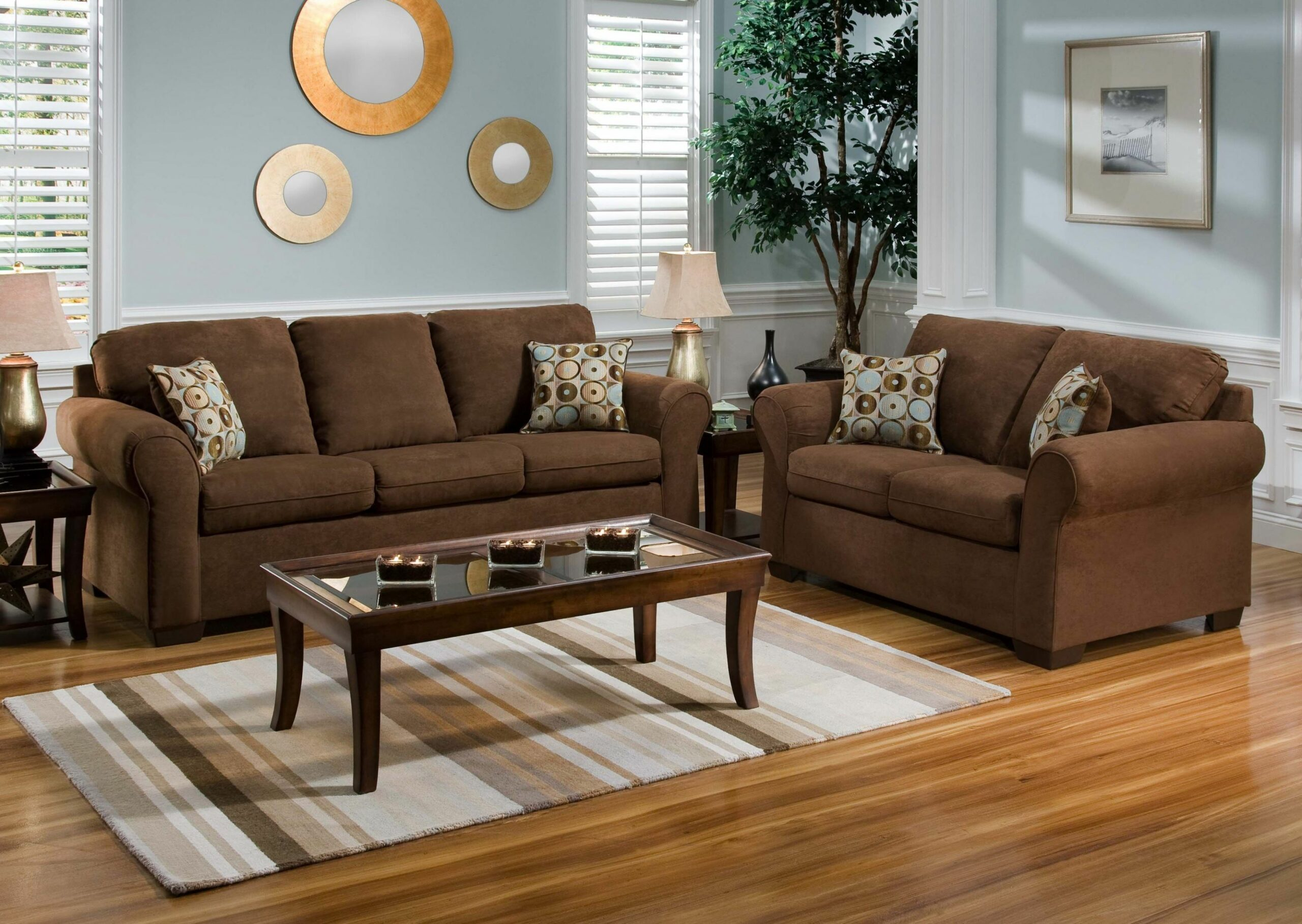 Living Room Ideas With Brown Sofas | Brown couch living room ..