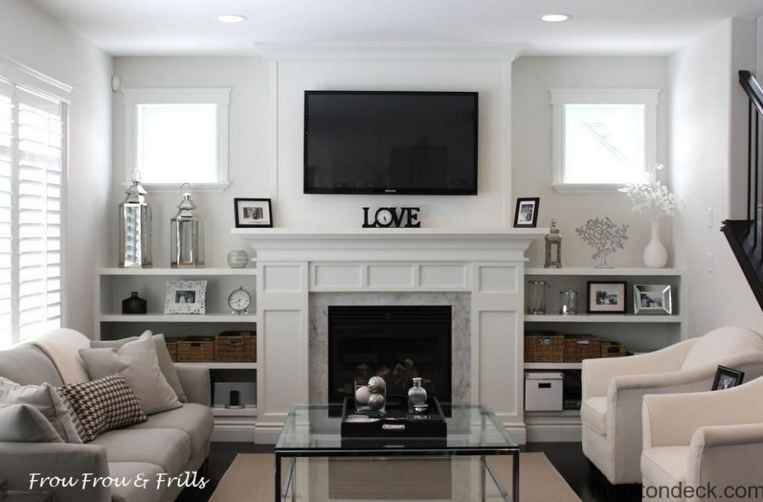 Living Room : Living Room With Electric Fireplace Decorating Ideas ..