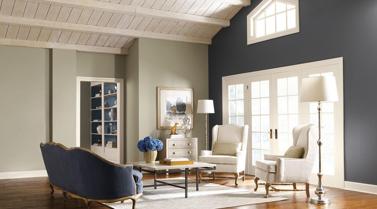 Living Room Paint Color Ideas | Inspiration Gallery | Sherwin-Williams - living room ideas and colors