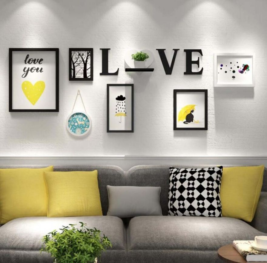 Living Room Wall Decor Ideas 10 Pinterest Decoration For Cheap ..