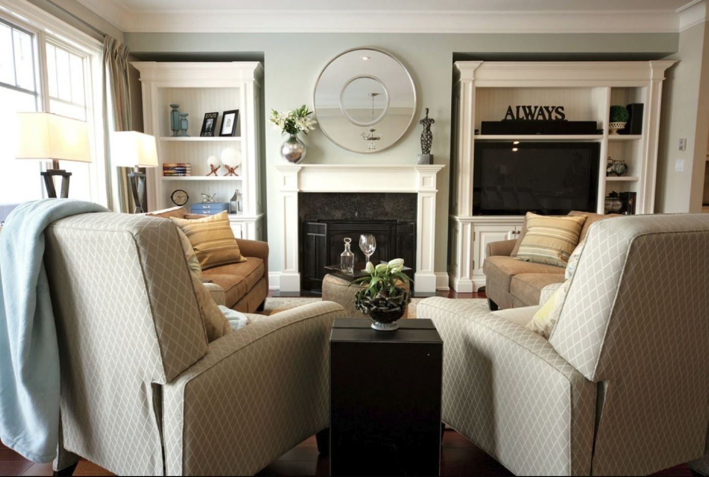 Living Room with two recliners & two couches | Living room ..