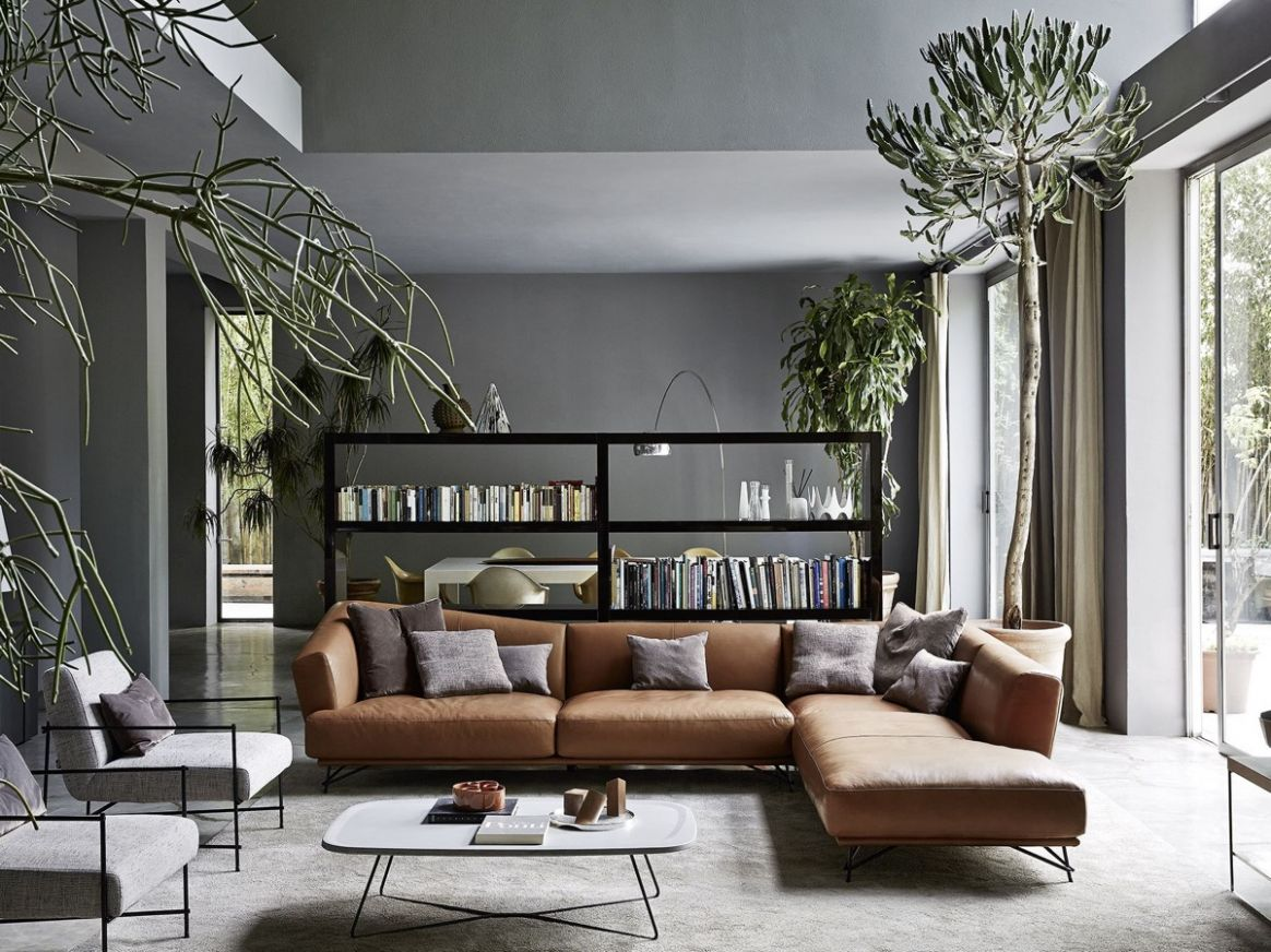 Living Rooms With Brown Sofas: Tips & Inspiration For Decorating Them - living room ideas brown sofa