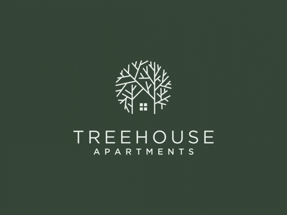 Logo design for apartment called Treehouse. | 9designs | Tree ..