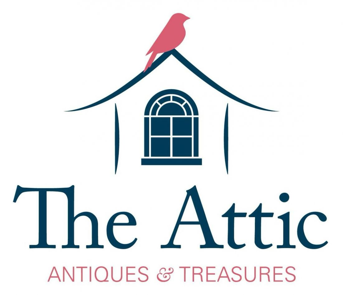 "Logo designed for new antique store called ""The Attic"" (With .."