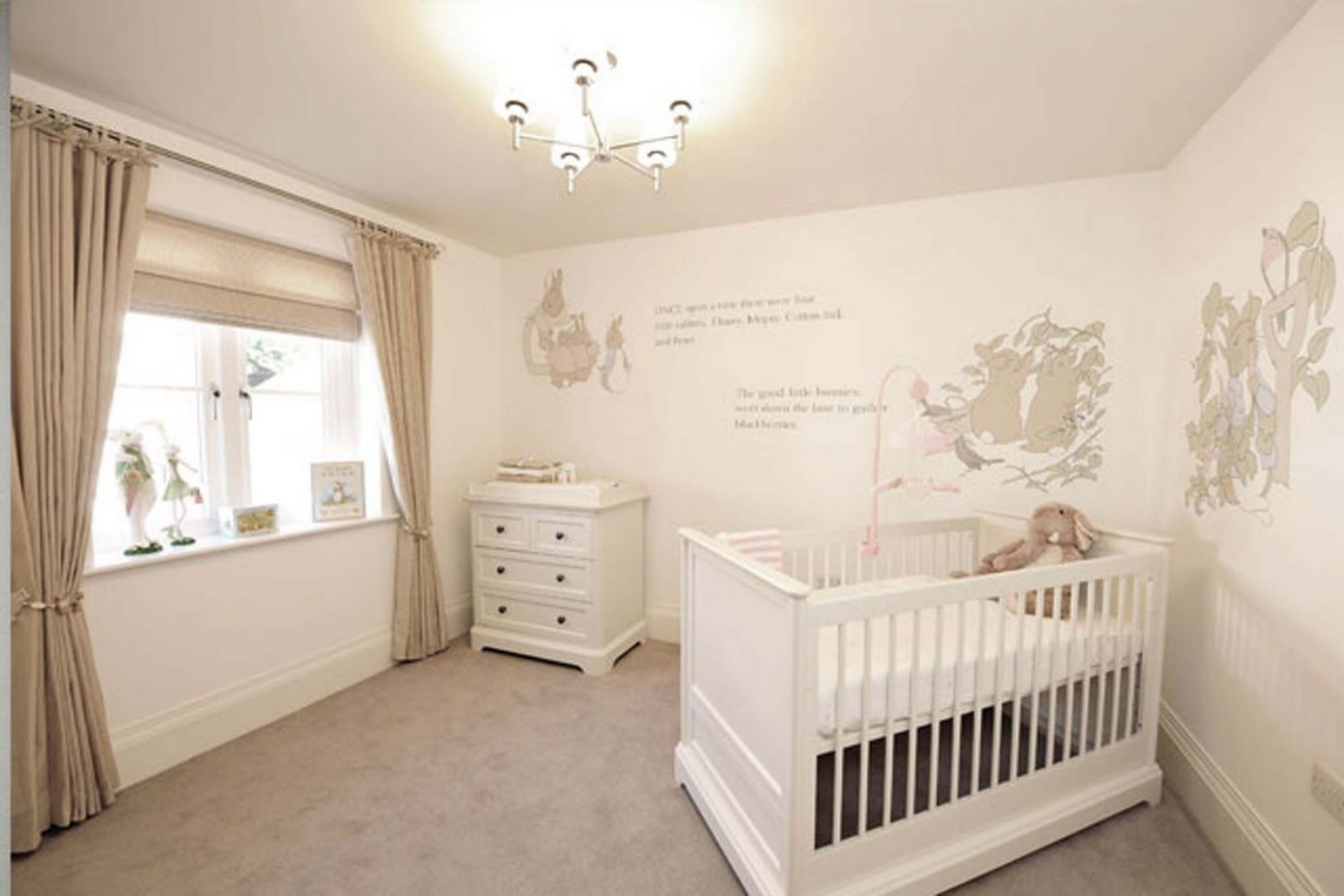 Love these Beatrix potter, Peter rabbit wall stencils (With images ..
