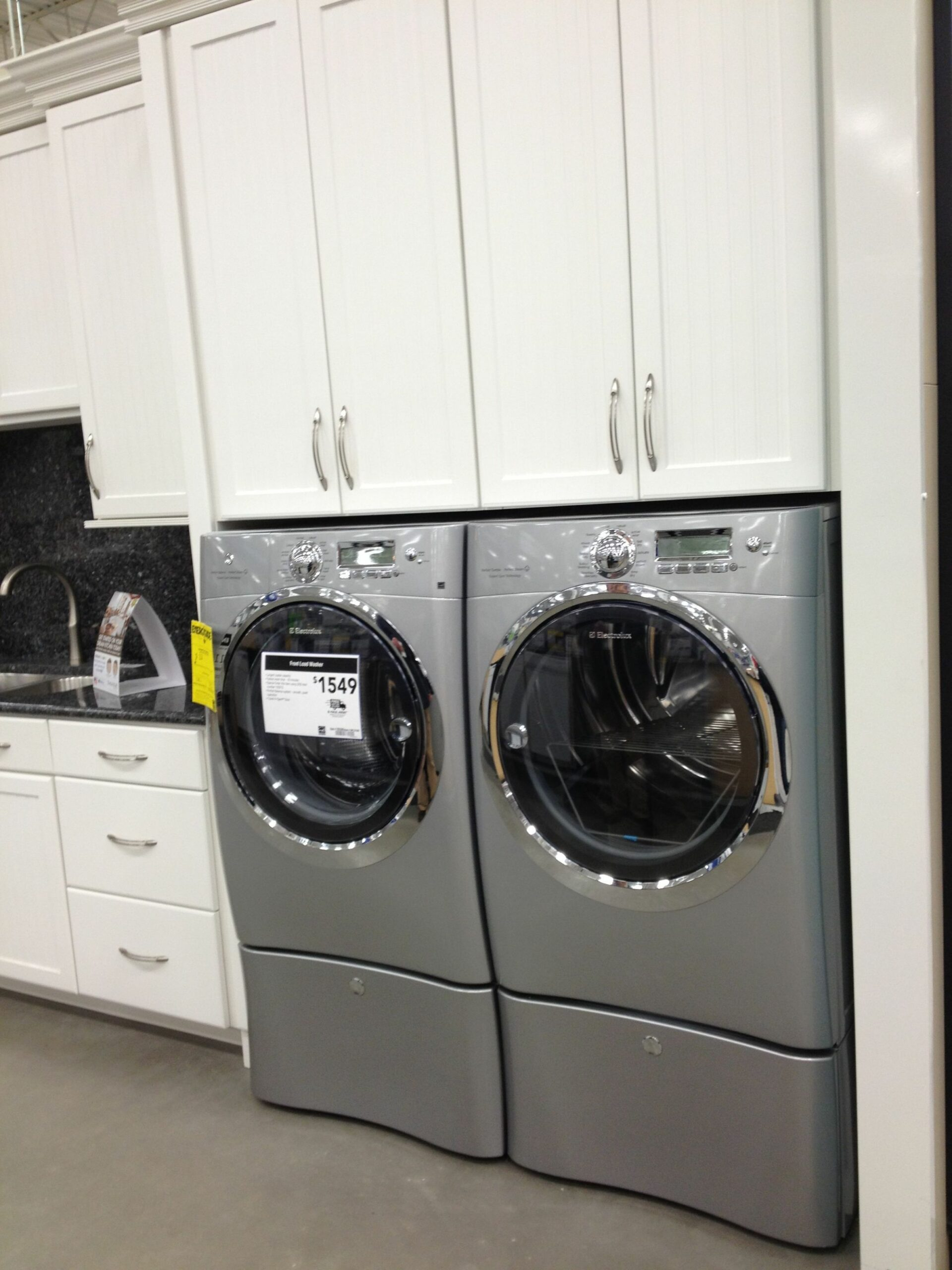 Lowes- laundry room ideas - the more shelves / cupboards the ...