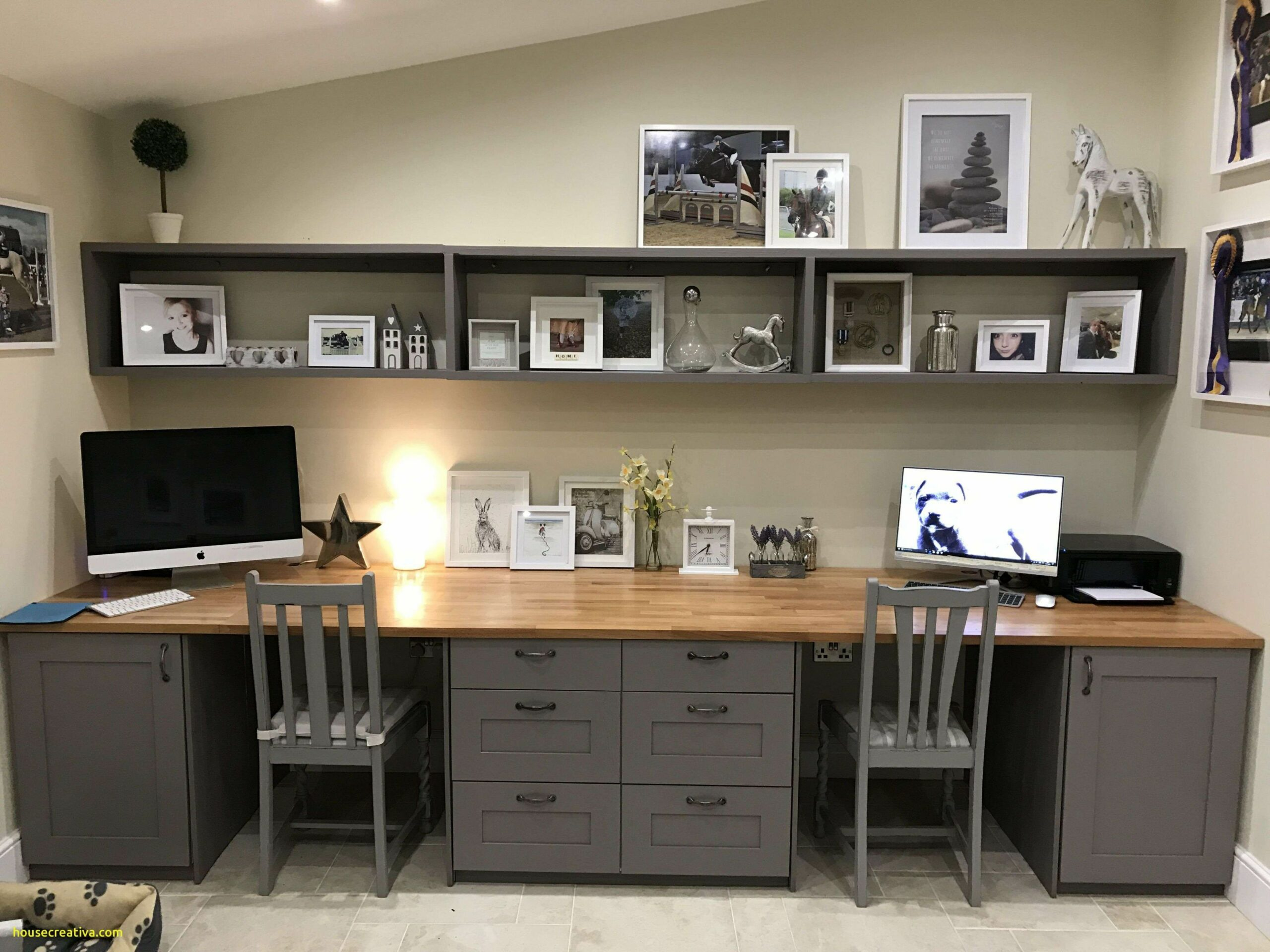 Luxury Basement Home Office Ideas #homedecoration #homedecorations ..