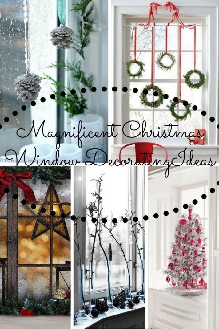 Magnificent Christmas Window Decorating Ideas For 10 | Christmas ...