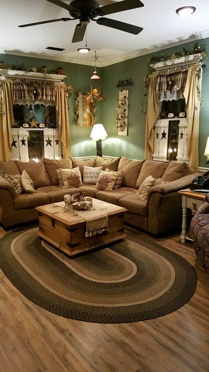 Magnificent Country Living Room Rustic Decor Style French Rooms ..