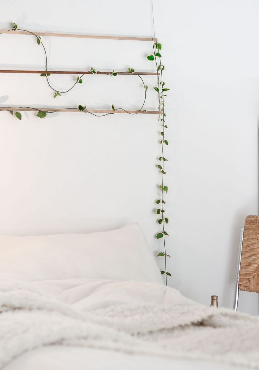 Make A Nature Inspired Wall Hanging For Your Bedroom - diy home decor nature