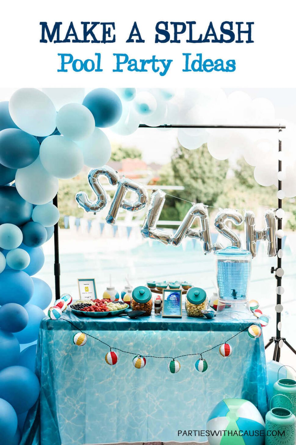 Make A Splash Pool Party to Benefit Charity Water - Parties With A ...