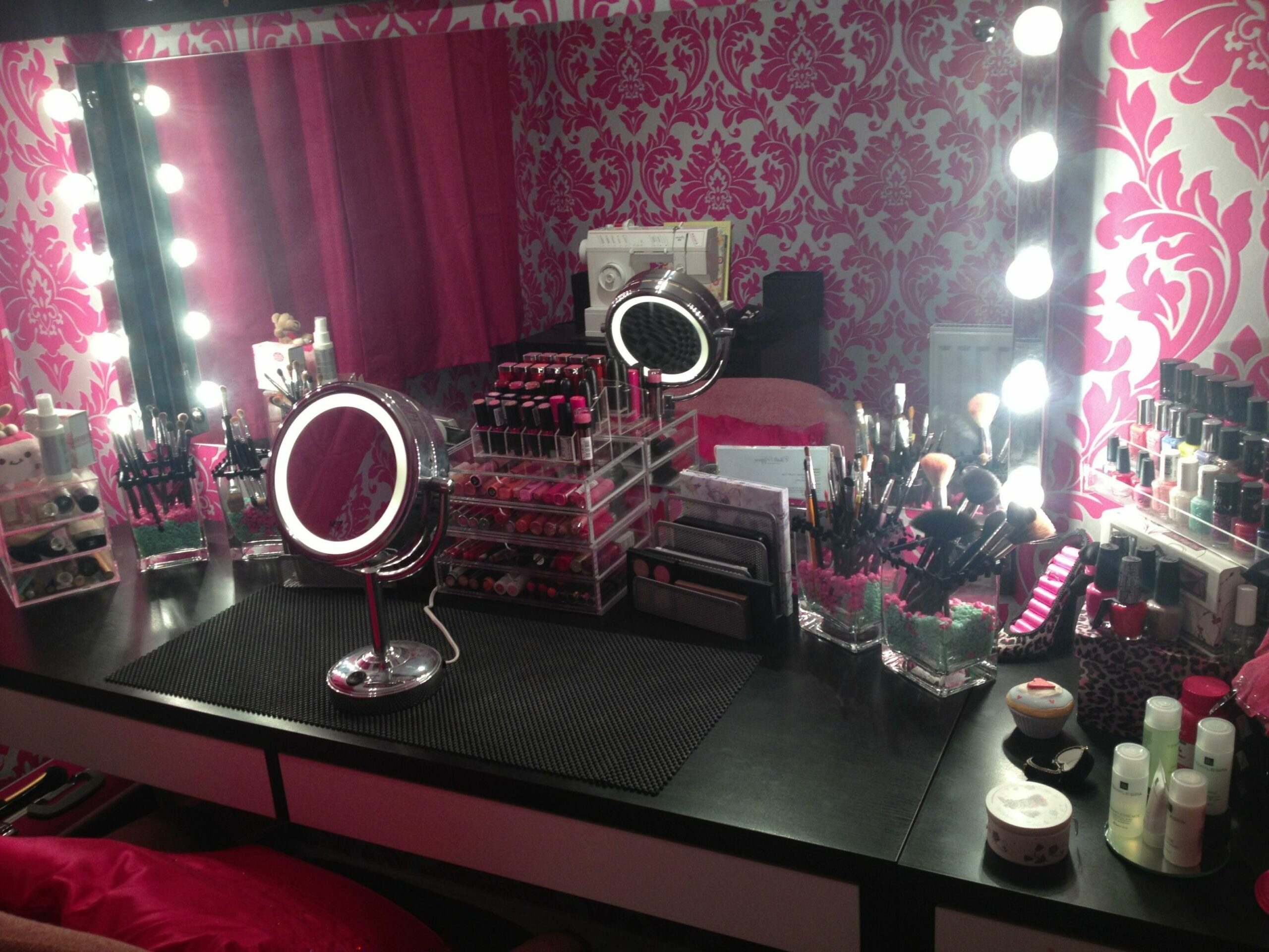 Makeup room, A hollywood vanity style makeup room ..