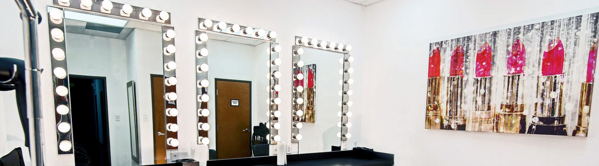 Makeup Room – Camera Ready Studios, LLC – North Dallas rental studios