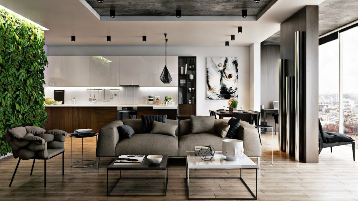 Male look at modern interior | Interior of the male living room - 10  luxurious ideas