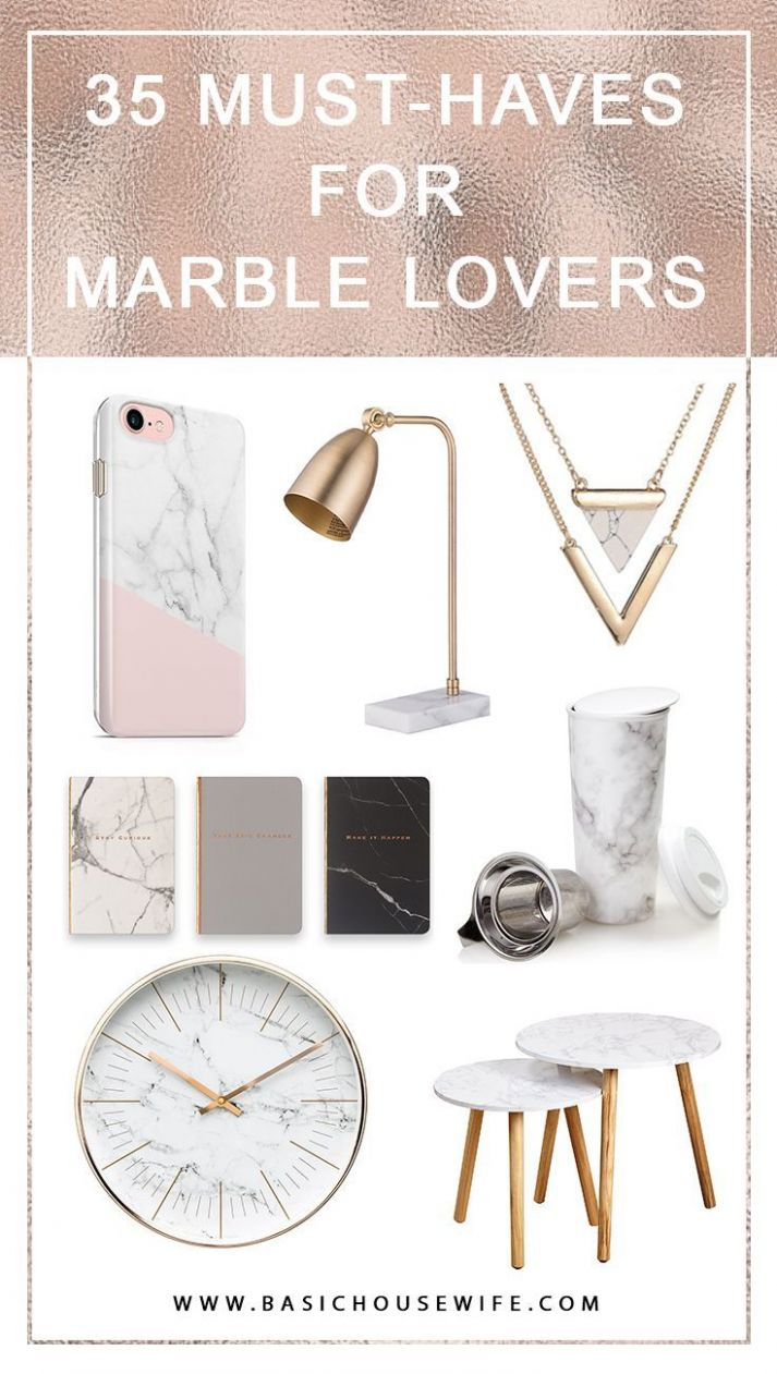 Marble Accessories: 8 Gift Ideas for the Marble-Obsessed | Marble ...