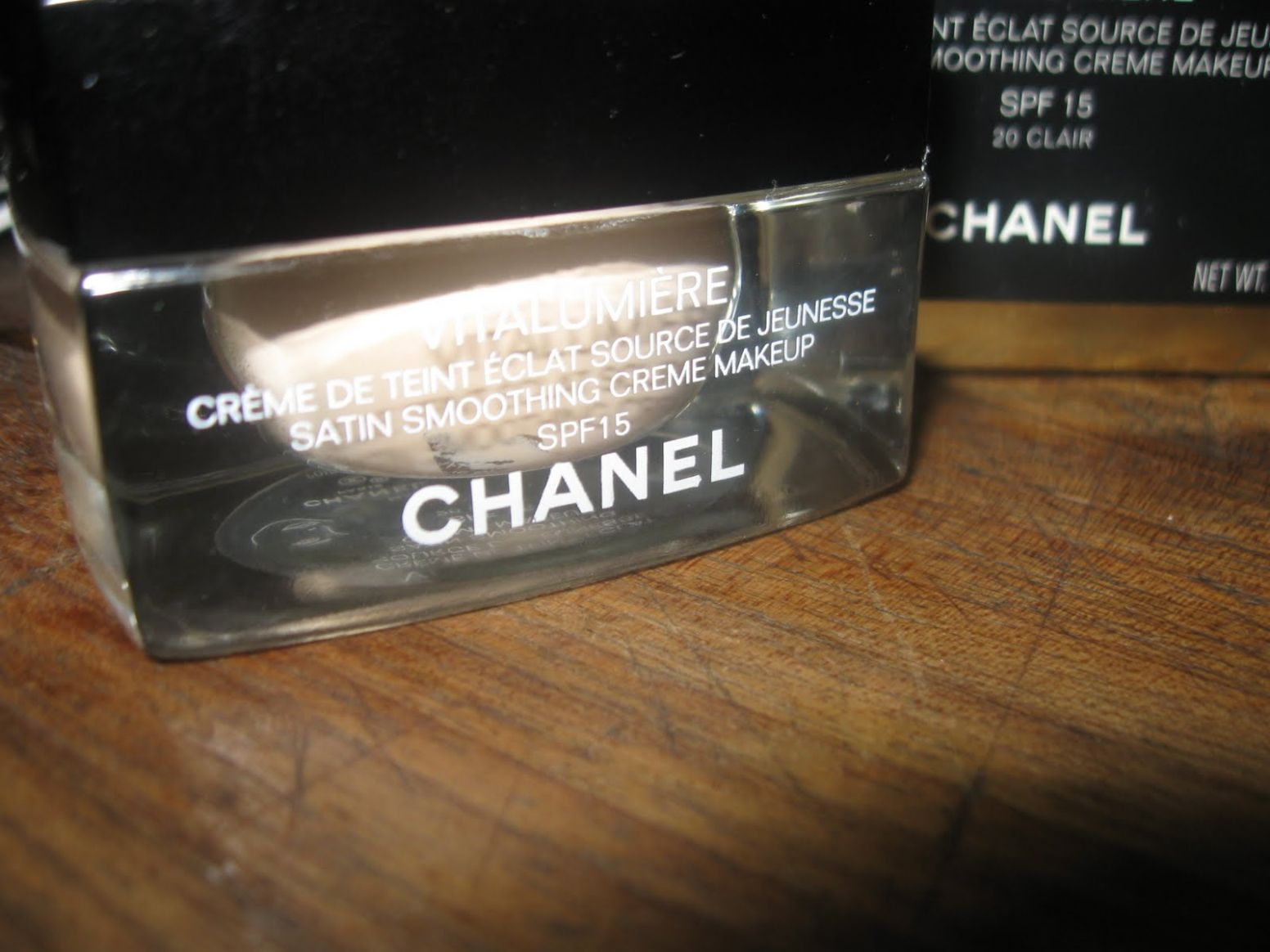 Marie's Powder Room: Chanel Vitalumiere Satin Smoothing Creme ...