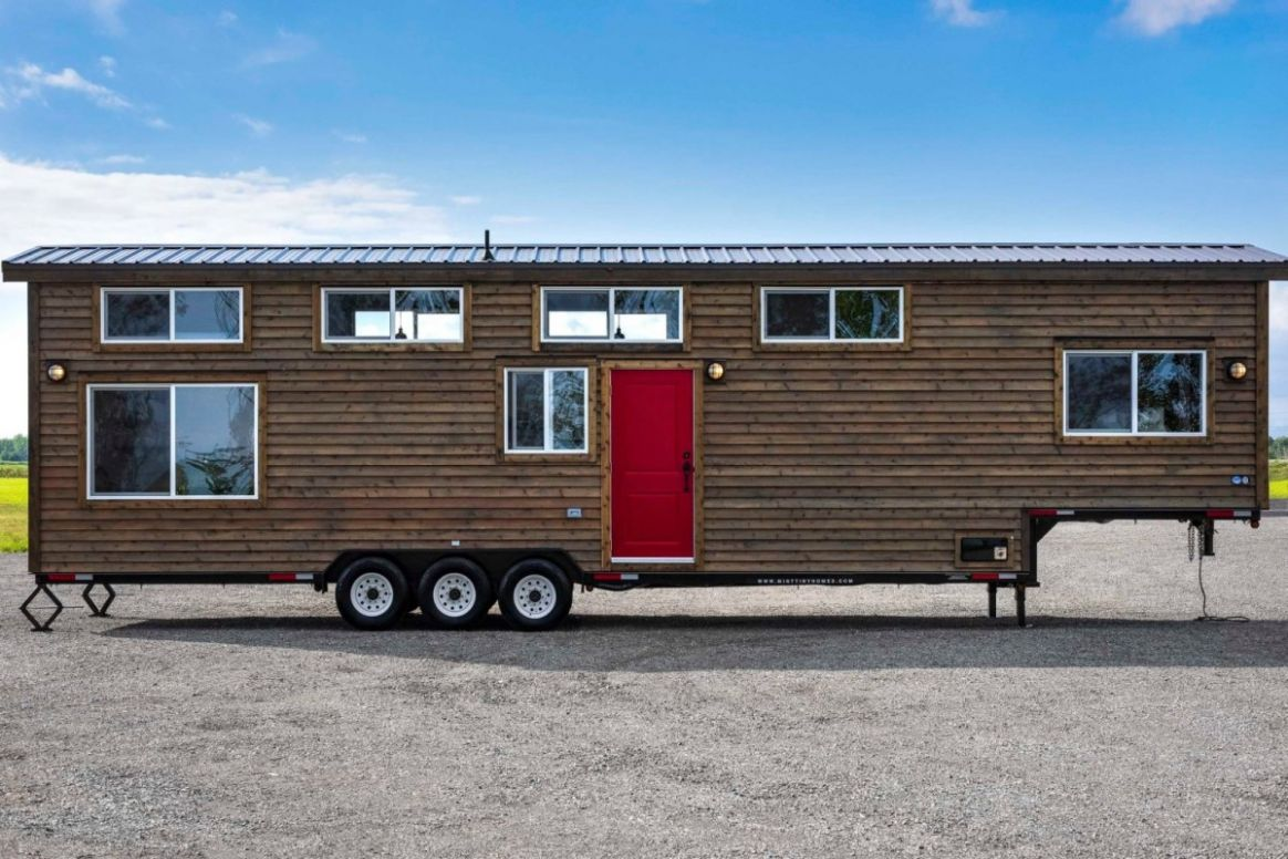 Massive Canada Goose tiny house is worth a gander - tiny house trailer