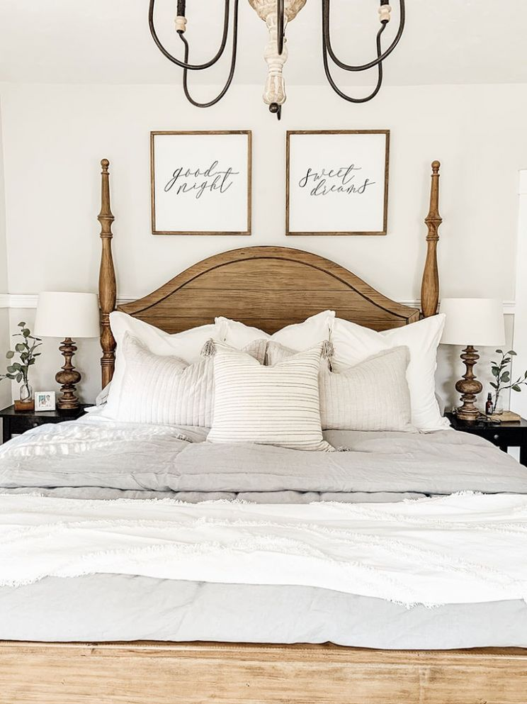 Master Bedroom Bedding Reveal - Micheala Diane Designs