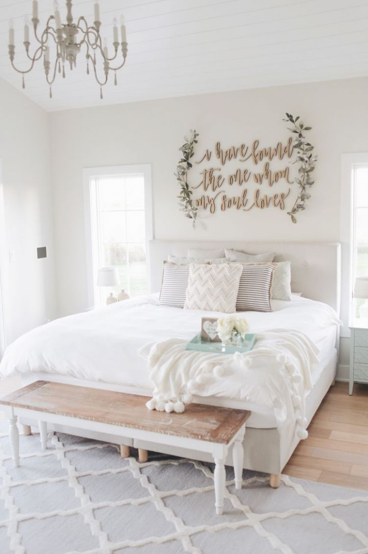 master bedroom wall decor (With images) | Master bedroom wall ...